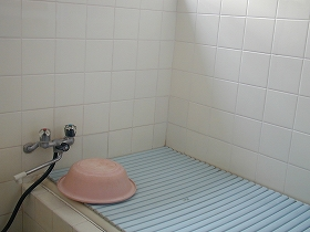 浴槽横手すり(before)