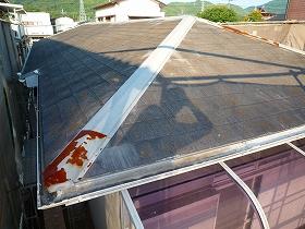 屋根塗装着工前01