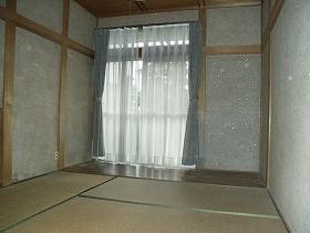 畳からフローリングのビフォー