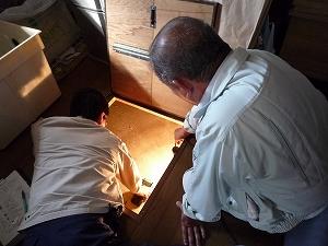特定構造・防水検査(床下の検査)