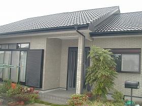 外壁・屋根瓦塗装リフォームのビフォー03