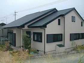 外壁・屋根瓦塗装リフォームのアフター01