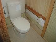 介護リフォーム(トイレの改修)