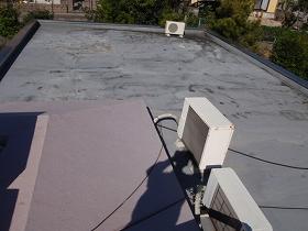 屋上防水工事のビフォー01