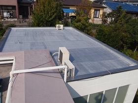 屋上防水工事のアフター