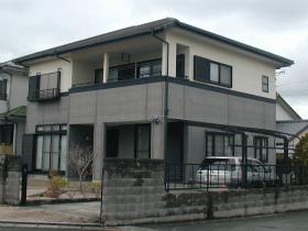 外壁・屋根瓦塗装のビフォー(全景)