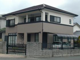 外壁・屋根瓦塗装のアフター(全景)