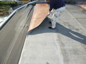 屋上防水工事(RC造陸屋根)の着工前