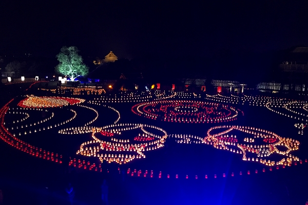 吉野ヶ里歴史公園ライトアップ-05